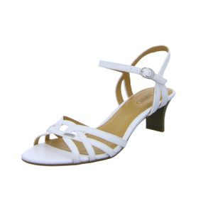 Esprit Damen Sandalen in Weiß, Größe 39