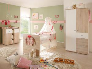 "Babyzimmer Möbelset Kinderzimmer Komplettset Babymöbel (3-teilig) ""Floris I"""