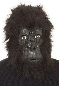 O40331.00 schwarz Affe Affen Gorilla Uberziehmaske Maske Einheitsgröße