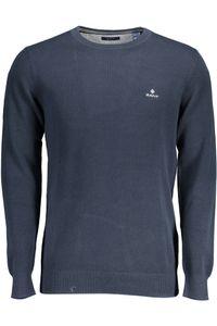 GANT Herren Pique Sweater, Farbe:blau, Größe:M
