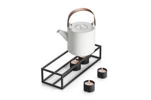 PHILIPPI Teelichthalter CUBO  20 x 10 x 6,5 cm Stahl pulverbeschichtet