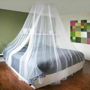 Miixia Moskitonetz Betthimmel Fliegennetz Mückennetz Doppelbett Insektennetz Reise Netz 60x220x850cm