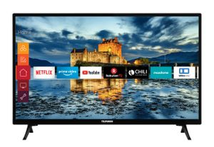 Telefunken XF32J511 32 Zoll Fernseher (Smart TV inkl. Prime Video / Netflix / YouTube, Full HD, Works with Alexa, Triple-Tuner)