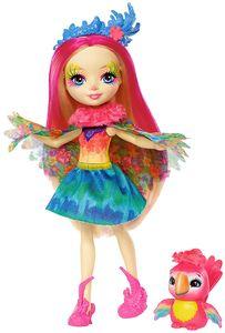 Enchantimals Papageienmädchen Peeki Parrot Puppe