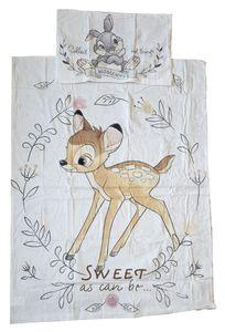Disney Bambi  Klopfer - Baumwoll-Bettwäsche  - Set 100x135 40x60cm