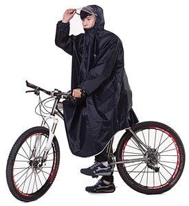 Bike Fahrrad Regenjacken Regenponcho Wasserdicht Regenmantel für Die Jagd Camping Freizeit Regenmäntel Regencape Tiefblau 3XL