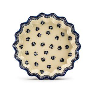 Bunzlauer Keramik Ø 32cm TARTEFORM Quicheform Kuchenform Backform Obstkuchenform