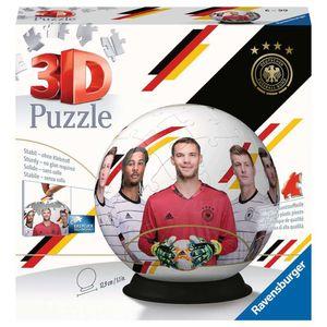 RAVENSBURGER 3D Puzzle-Ball Die Mannschaft inkl Aufsteller Kinderpuzzle 72 Teile