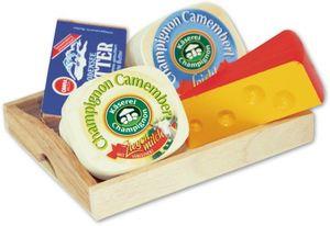 Käse-Butter Tablett 5tlg. Tablett, Spielzeug, 1Set