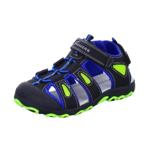 Sneakers Jungen-Sandalette Schwarz, Farbe:schwarz, EU Größe:28