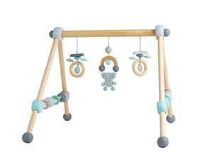Bieco Spieltrapez   Spielbogen Baby Holz mit Figuren & Kugeln   Spielebogen Holz Baby   Spieltrapez Holz   Baby Mobile Holz   Activity Center Baby Gym   Holzspielzeug Baby   Baby Spielzeug