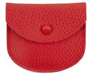 Rosenkranz-Etui Leder rot 7,5 x 6,5 cm
