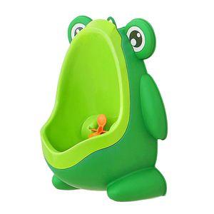 Frosch Kleine Jungen Pinkeln Toilette Kinder Trainieren Töpfchen Urinal Leicht Zu Reinigen Grün Töpfchentrainer 29,5 x 22 x 16 cm