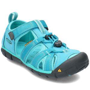 KEEN Kinder Sandalen  Textil blau 34