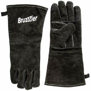 Bruzzzler 1081 Grillhandschuhe Handschuhe Ofenhandschuhe Kamin Hitzebeständig Ofen