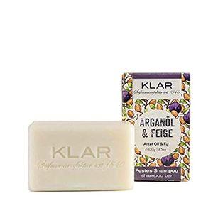 Klar's festes Shampoo Haarseife Arganöl / Feige für trockenes Haar, 100g 704021 (11171)