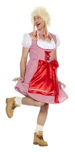 Herren Kostüm Travestie Dirndl Karneval Fasching Männerballett Gr.56