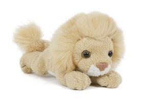 Plüschtier Löwe, 13 cm, Pettie, Stofftier Kuscheltier Raubkatze Wildtier Löwen