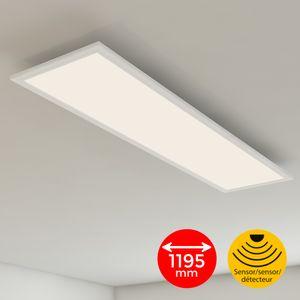 Briloner Leuchten - LED Panel Bewegungsmelder Tageslichtsensor 38W weiß
