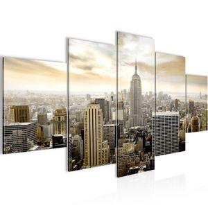 New York City BILD :200x100 cm − FOTOGRAFIE AUF VLIES LEINWANDBILD XXL DEKORATION WANDBILDER MODERN KUNSTDRUCK MEHRTEILIG 603451a