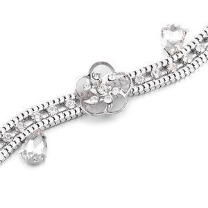 Damengürtel Bauchgürtel Taillengürtel Blätter Gürtelkette Schmale Party Damen Strass  Wellig Taillengürtel 113cm Silber