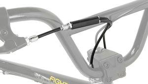 BMX Bremse Bremszug vom Lenker zum Rotor