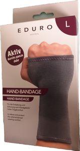 ENDURO Hand Bandage für die Entlastung und Schonung vom Handgelenk - hoher Tragekomfort Größe : L