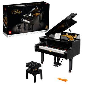 LEGO 21323 Ideas Konzertflügel Bauset für Erwachsene, Ausstellungsstück mit Motor und funktionierenden Tasten, Geschenk für Sammler