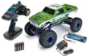 "Carson 1:10 X-Crawlee XL 2.4GHz 100% RTR ""Green"" #500404068 Crawler"