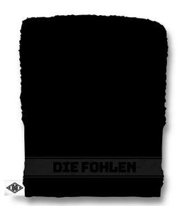 """Borussia Mönchengladbach Waschhandschuh """"Embossed"""" schwarz"""
