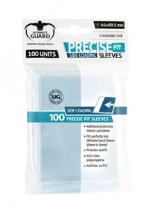 Precise-Fit Side-Loading Standard Size Clear (100)