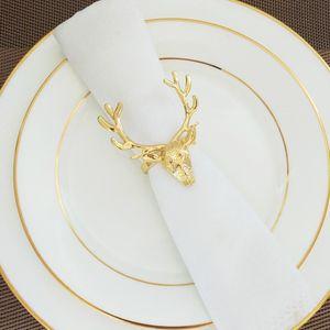 Weihnachten Serviettenringe Serviettenhalter Servietten Ringe Halter Gold wie beschrieben