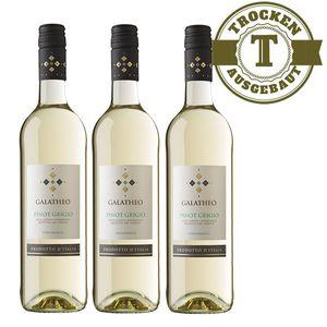 Weißwein Italien  Pinot Grigio Galatheo trocken (3x0,75L)
