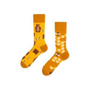 Many Mornings HoneyBear Socken Musterung, Größe:35-38