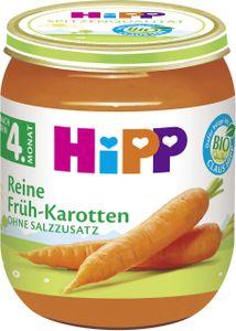 Hipp Reine Früh-Karotten, 125g