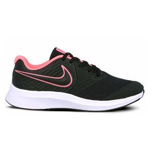 Nike Star Runner 2 Gs Black / Sunset Pulse / Black / White EU 40