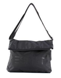 Esprit Cleo Flapbag Umhängetasche Schultertasche Crossbody Bag 999EA1O809, Farbe:Black