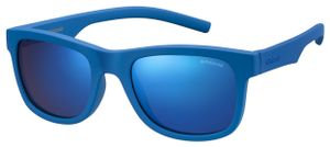 Polaroid sonnenbrille 8020/SZDI/JY junior wayfarer blau