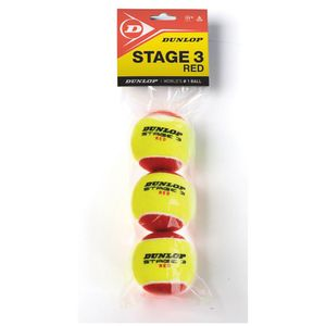 DUNLOP D TB STAGE 3 RED 3 POLYBAG gelb/rot gelb/rot -