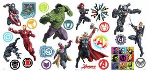 RoomMates wandaufkleber Marvel Avengers vinyl 26 Stück