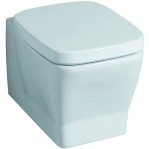 Geberit Tiefspül-WC SILK wandhängend, 6 l weiß