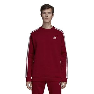 adidas Originals 3-Stripes Herren Sweatshirt Rot, Größe:XL