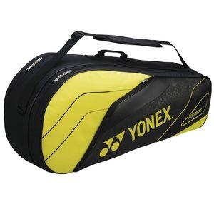 Yonex Team Series BAG4926EX Tennistasche 6R Gelb Schwarz