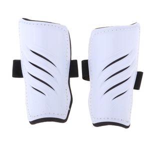 Kinder Shin Fußball Fußball Pads Guards Protector Gear Training Bein Weiß Schienbeinschoner wie beschrieben