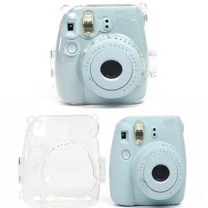 1 Stück Transparent Kamera Schutz Gehäuse Zubehör Reise Kamera Schutzhülle mit Schulterriemen Für Fujifilm Instax Mini 8 Mini 8+