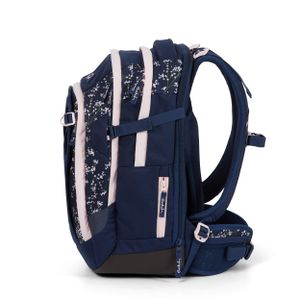 Satch Match Schulrucksack, Bloomy Breeze, Farbe/Muster: dark blue, ros