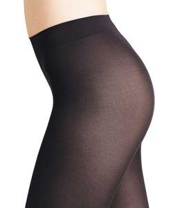 FALKE Damen Strumpfhose - Matt Deluxe 30, transparent matt, 30 DEN Black M (40-42)