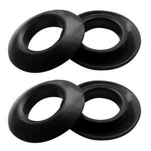 4 Stück Universal Gummi Kajak Paddel Tropfringe, für Kajak Und Kanu Stechpaddel oder Doppelpaddel Tropfringe