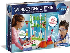 Clementoni 59187 Galileo Wunder der Chemie Experimentierkasten