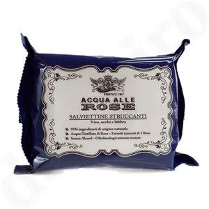 Acqua alle Rose Abschminktücher für Gesicht Augen und Lippen 20stk.